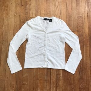 SALE!! 5/$25 Express White Cardigan